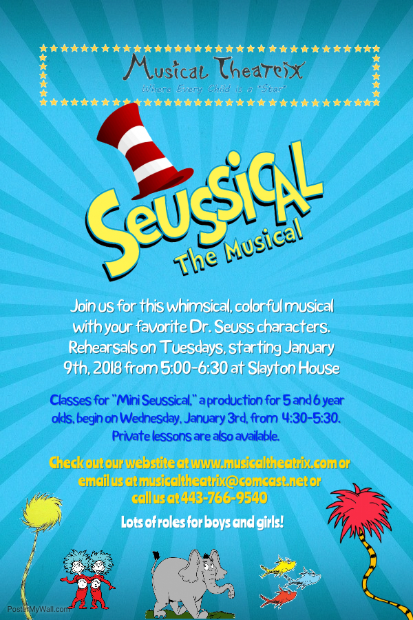 New Dates-Suessical